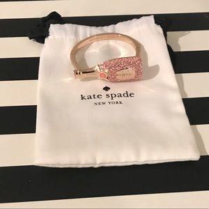 Kate Spade ♠️ Rose Gold Champagne Bracelet